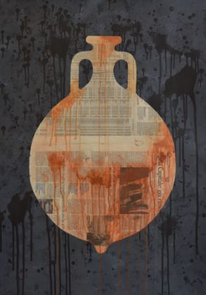 Woody Pirtle, 8 Amphorae, 2015 - Courtesy of the artist