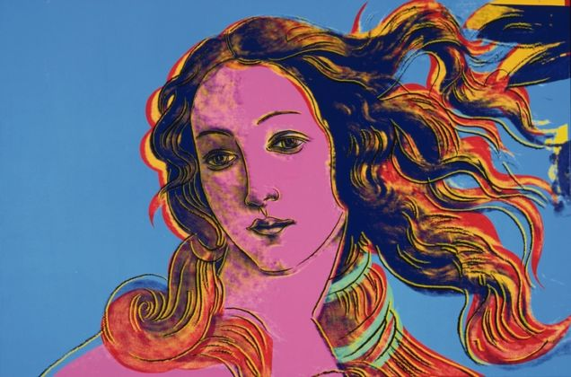 Andy Warhol, Details of Renaissance Paintings (Sandro Botticelli, Birth of Venus, 1482), 1984 - photo The Andy Warhol Foundation