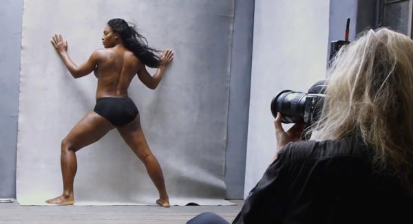 Annie Lebowitz fotografa Serena Williams