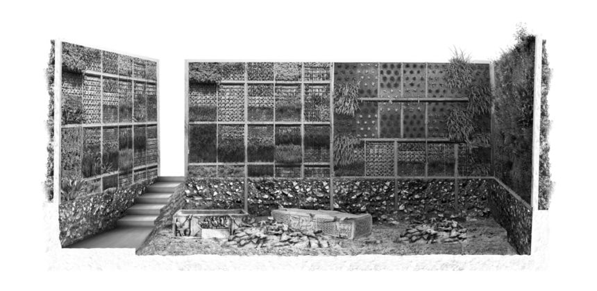 Aristide Antonas, Ruin Room, from the series Athens Digs and Trenches, 2011-14
