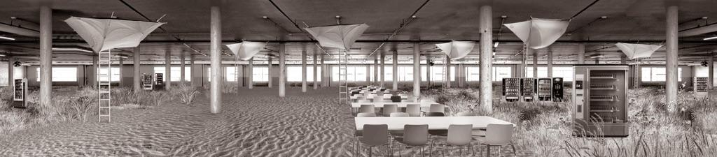 Aristide Antonas, Sleeping Area from the series Empty University 2014-16