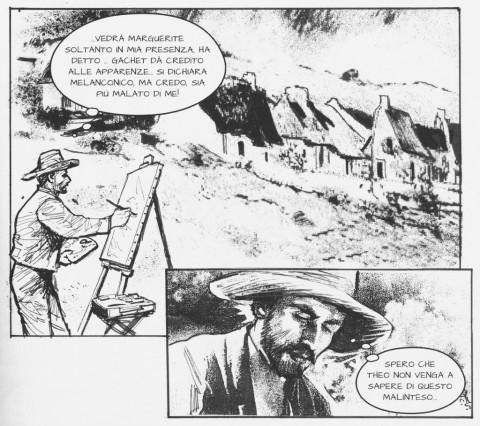 Armando Brignolo & Gino Vercelli – Van Gogh. Ipotesi di un delitto a fumetti