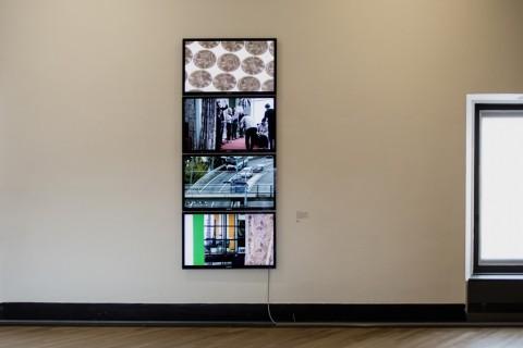 Atlante delle immagini e delle forme – installation view at GAMeC, Bergamo 2016 - photo Francesca Ferrandi