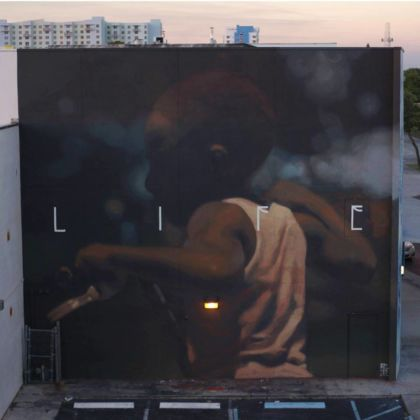 Axel Void, Life, Wynwood-Miami, 2014