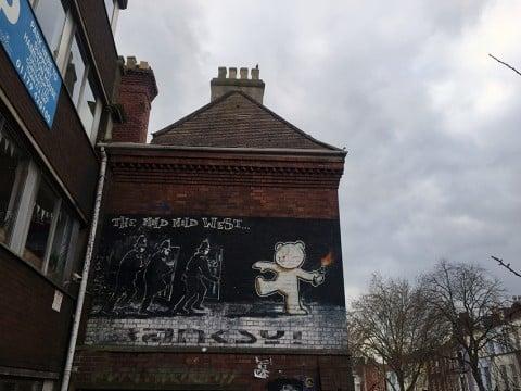 Banksy, Mild MIld West - Bristol