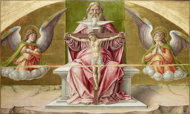 Bartolomeo Vivarini, Polittico di Scanzo, 1488 (particolare) - Bergamo, Accademia Carrara