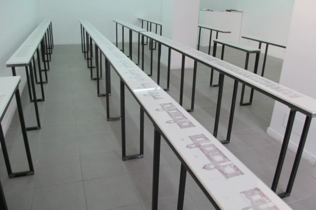 Bertille Bak – Radice - installation view at The Gallery Apart, Roma 2016