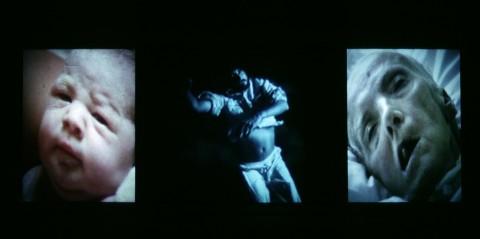 Bill Viola, Trittico di Nantes, 1992 - still da video - photo Kira Perov