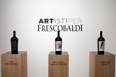 Bottiglie Frescobaldi con etichette d'artista - seconda edizione