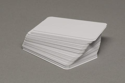 Carte da gioco total white