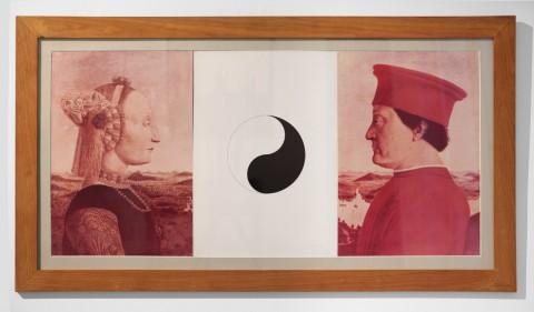 Claudio Parmiggiani, Yin Yang, 1973