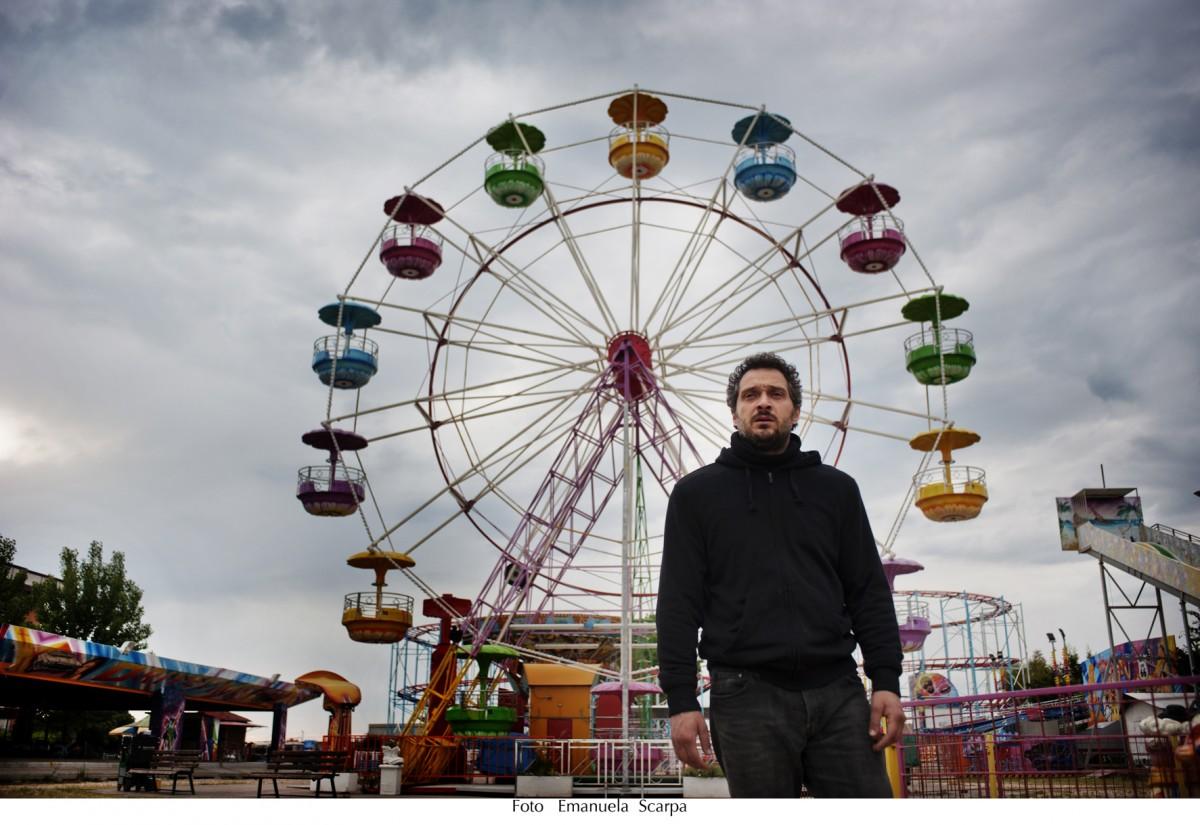 Claudio Santamaria in Lo chiamavano Jeeg Robot - photo Emanuela Scarpa