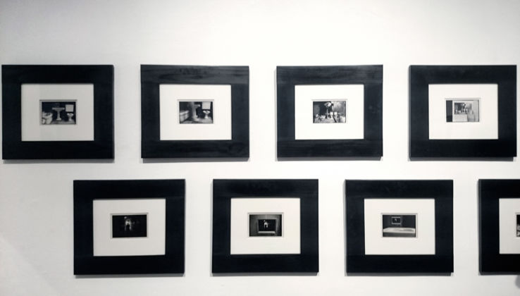 Conceptual Photography - installation view at Osart Gallery, Milano 2006 - Duane Michels, Things are queer, 1971 - dettaglio