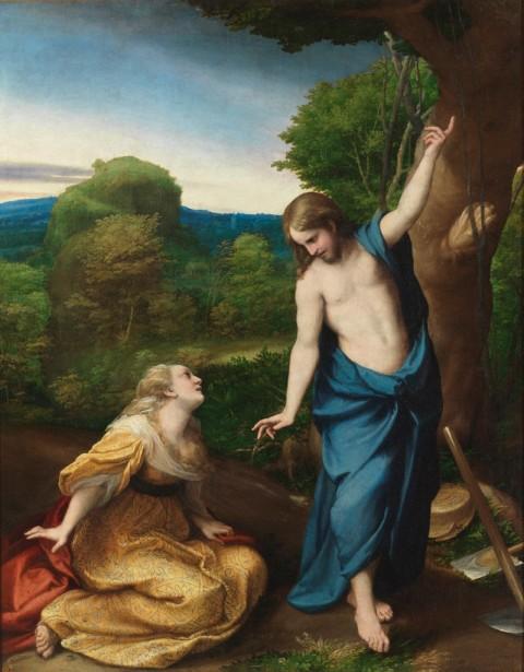 Correggio (Antonio Allegri), Noli me tangere - Madrid, Museo Nacional del Prado © Photographic Archive. Museo Nacional del Prado, Madrid