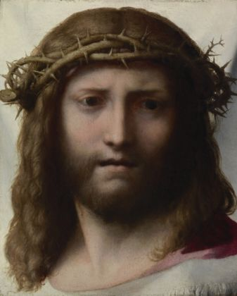 Correggio (Antonio Allegri), Volto di Cristo - Los Angeles, J. Paul Getty Museum © The J. Paul Getty Trust