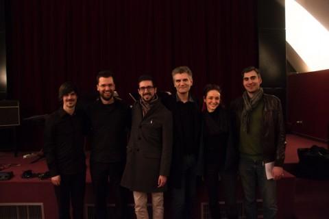 Duo Promenade Sauvage, Maurizio Azzan, Franck Bedrossian, Giulia Accornero, Emanuele Palumbo - photo Reisa Boksi