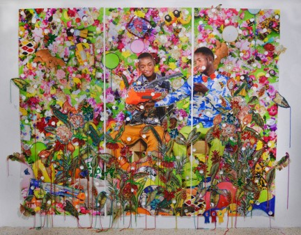 Ebony G. Patterson, When They Grow Up - Studio Museum in Harlem, New York 2016