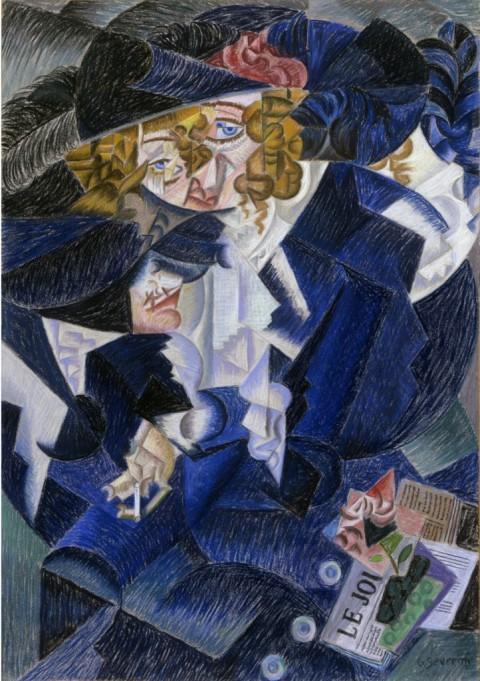 Gino Severini, Ritratto di Madame S., 1913-15, Rovereto, MART