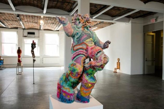 Greater New York - installation view at MoMA PS1, New York 2016