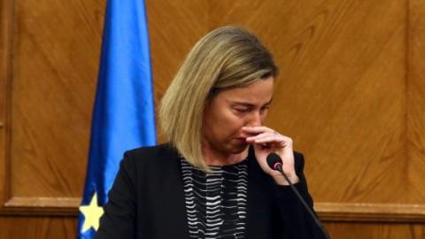 Il pianto di Federica Mogherini