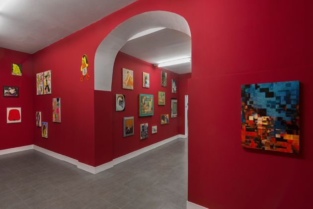 Imagine - installation view at Brand New Gallery, Milano 2016