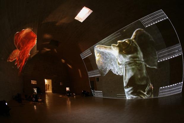 Intramoenia Extra Art - Andrei Molodkin, Le Rouge et Le Noir, 2009 - courtesy l'artista