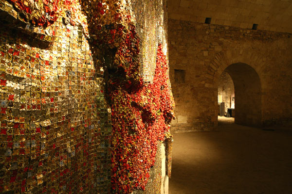 Intramoenia Extra Art - El Anatsui, Drifting continents, 2009 - courtesy l'artista