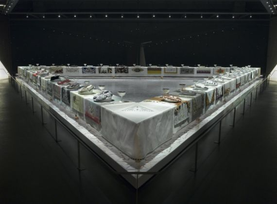Judy Chicago, The Dinner Party - Brooklyn Museum, New York 2016