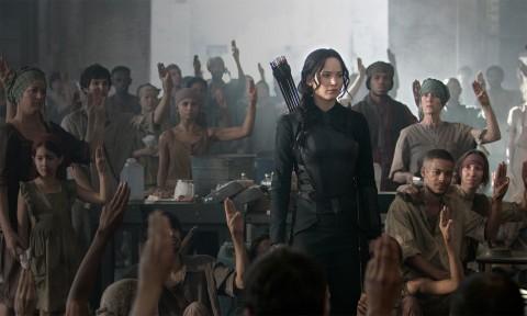 Katniss Everdeen in Hunger Games