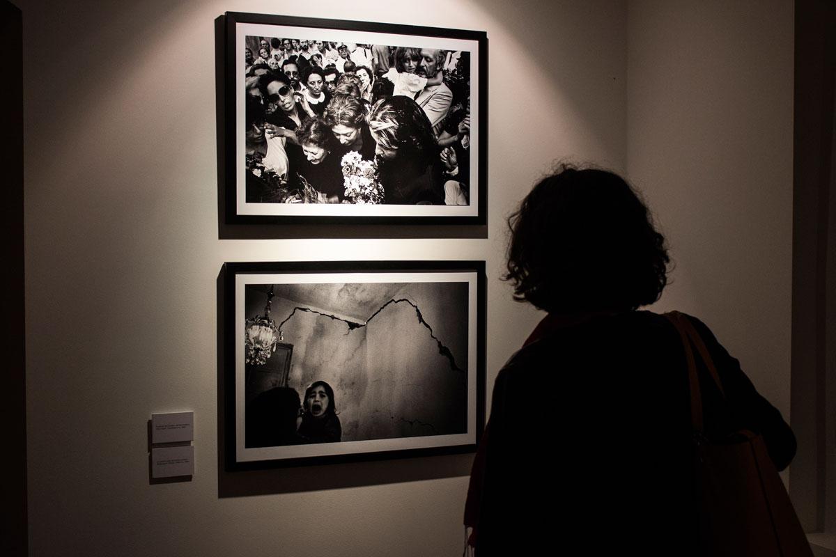 Letizia Battaglia - Qualcosa di mio - installation view at Museo Civico, Castelbuono 2016 - photo Francesco Lapunzina