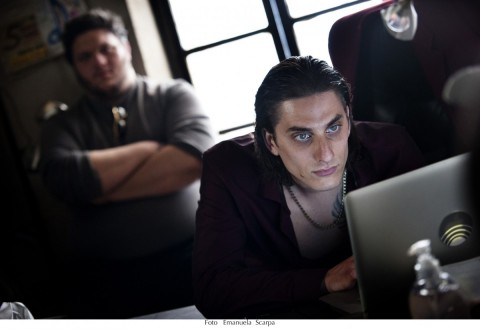 Luca Marinelli in Lo chiamavano Jeeg Robot - photo Emanuela Scarpa