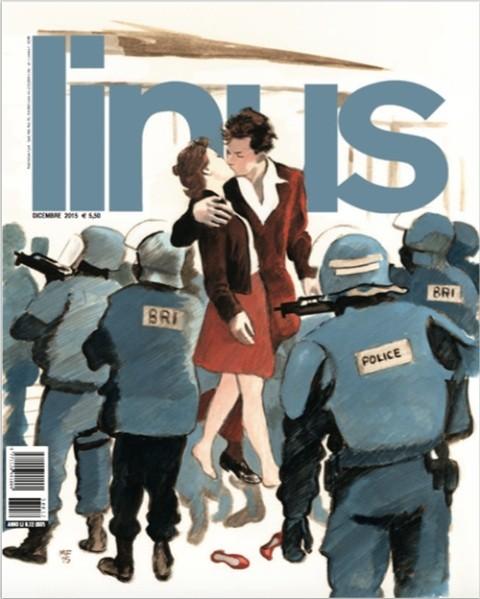 Manuele Fior, copertina per Linus