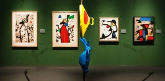 Miró. La forza della materia - installation view at MUDEC, Milano 2016 - photo Carlotta Coppo