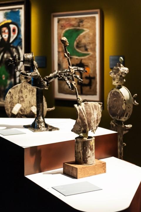 Miró. La forza della materia - installation view at MUDEC, Milano 2016 - photo Carlotta Coppo