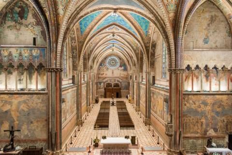 Nuova luce per la Basilica di San Francesco d'Assisi