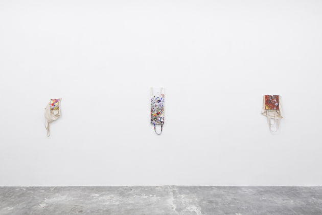 Paul Branca - Totes - installation view at Galleria Giorgio Galotti, Torino 2016