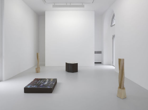 Richard Deacon – Flat Earth - installation view at Lisson Gallery, Milano 2016