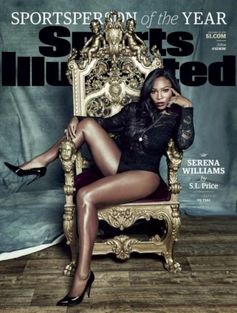 Serena Williams artista dell'anno per Sport Illustrated