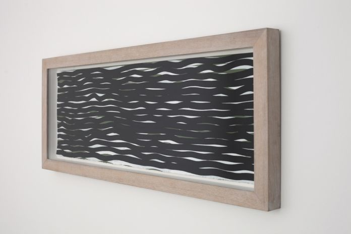 Sol LeWitt, Horizontal lines, 2005 - courtesy Cardi Gallery - photo Bruno Bani