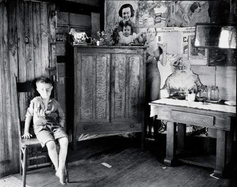 Walker Evans, A Miner''s Home, vicinity Morgantown, West Virginia 1935