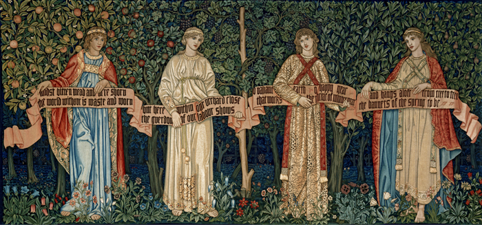 William Morris, The Orchard, 1890