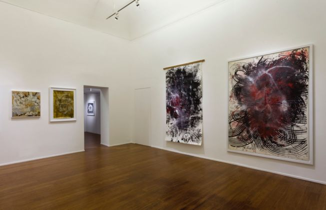 Yasuo Sumi - Nothing but the future - installation view at ABC-Arte, Genova 2016