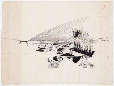 Yves Klein & Claude Parent, Cité climatisée, 1961