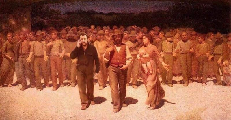 #salviniovunque - Pellizza da Volpedo