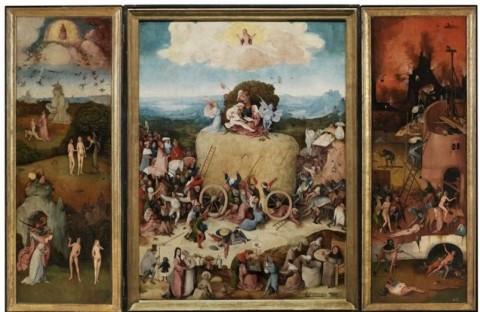 © Bosch500 a Den Bosch, Paesi Bassi. Trittico Haywain, Museo del Prado, Madrid