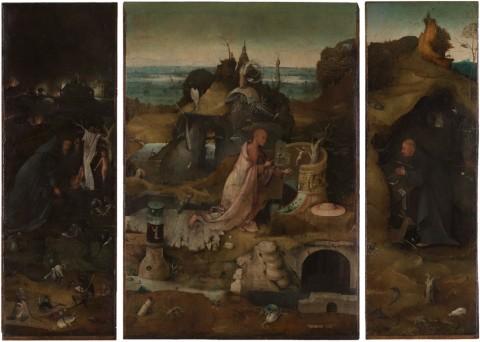 © Bosch500. Jheronimus Bosch, Trittico dei Santi Eremiti, 1485-89. Venezia, Gallerie dell'Accademia