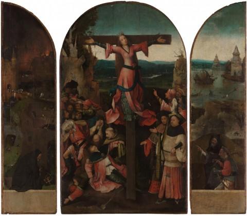 © Bosch500. Jheronimus Bosch, Trittico della Crocefissione, 1489-93. Venezia, Gallerie dell'Accademia