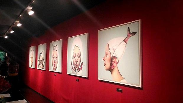 Afarin Sajedi – Illusion - installation view at Dorothy Circus Gallery, Roma 2016