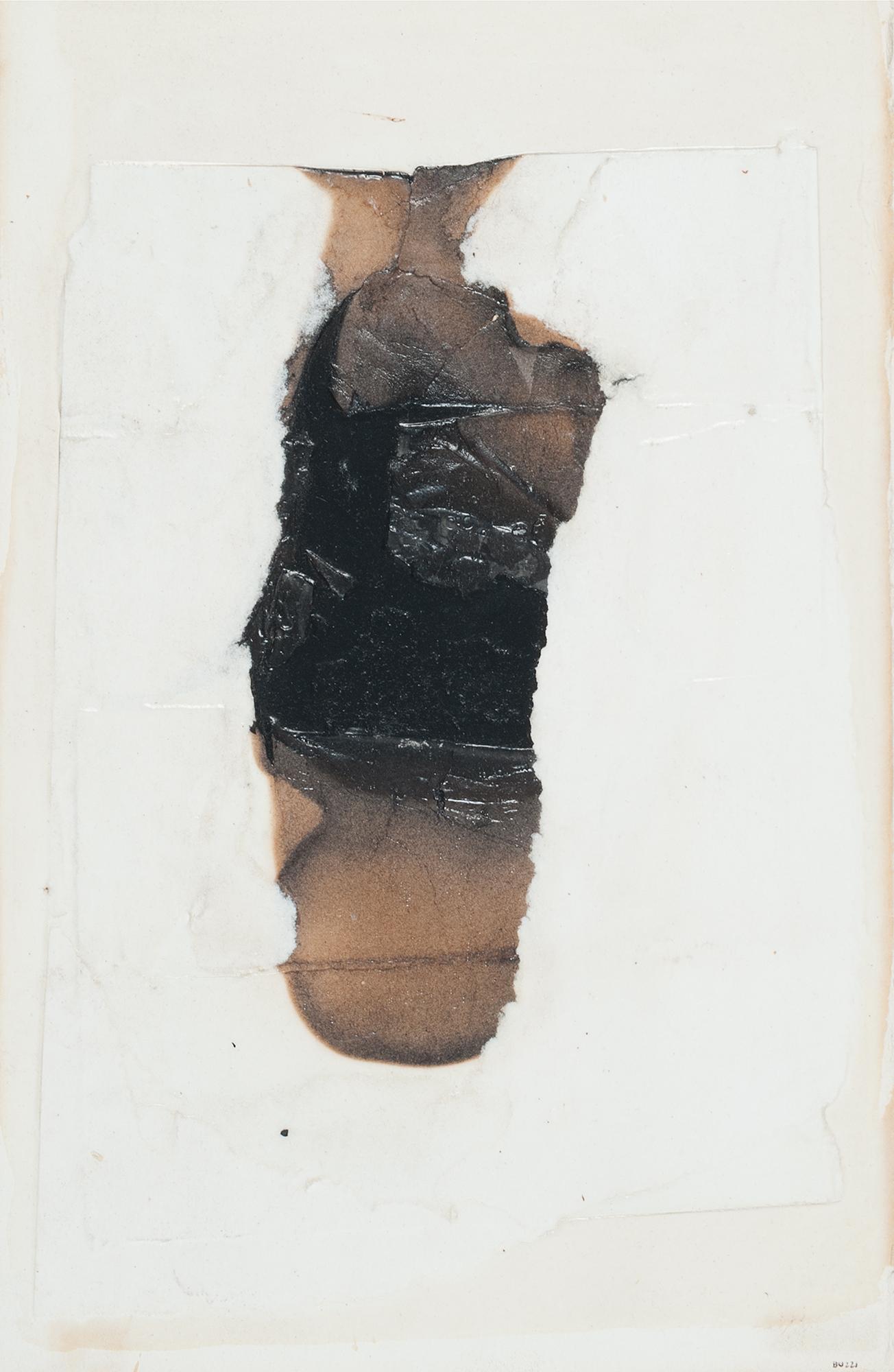 Alberto Burri, Combustione, 1964