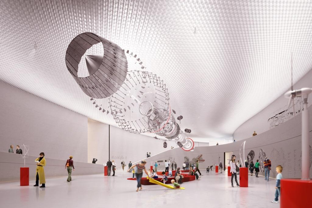 Amanda Levete Architects, MAAT, Lisbona - (c) AL_A
